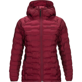 Peak Performance Argon Light Chaqueta con capucha Mujer, rhodes